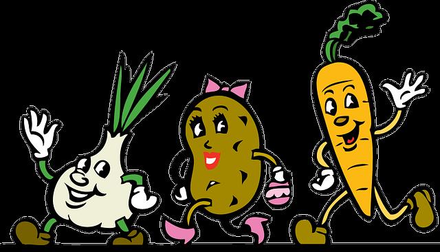 Zajęcia z piosenką o warzywach